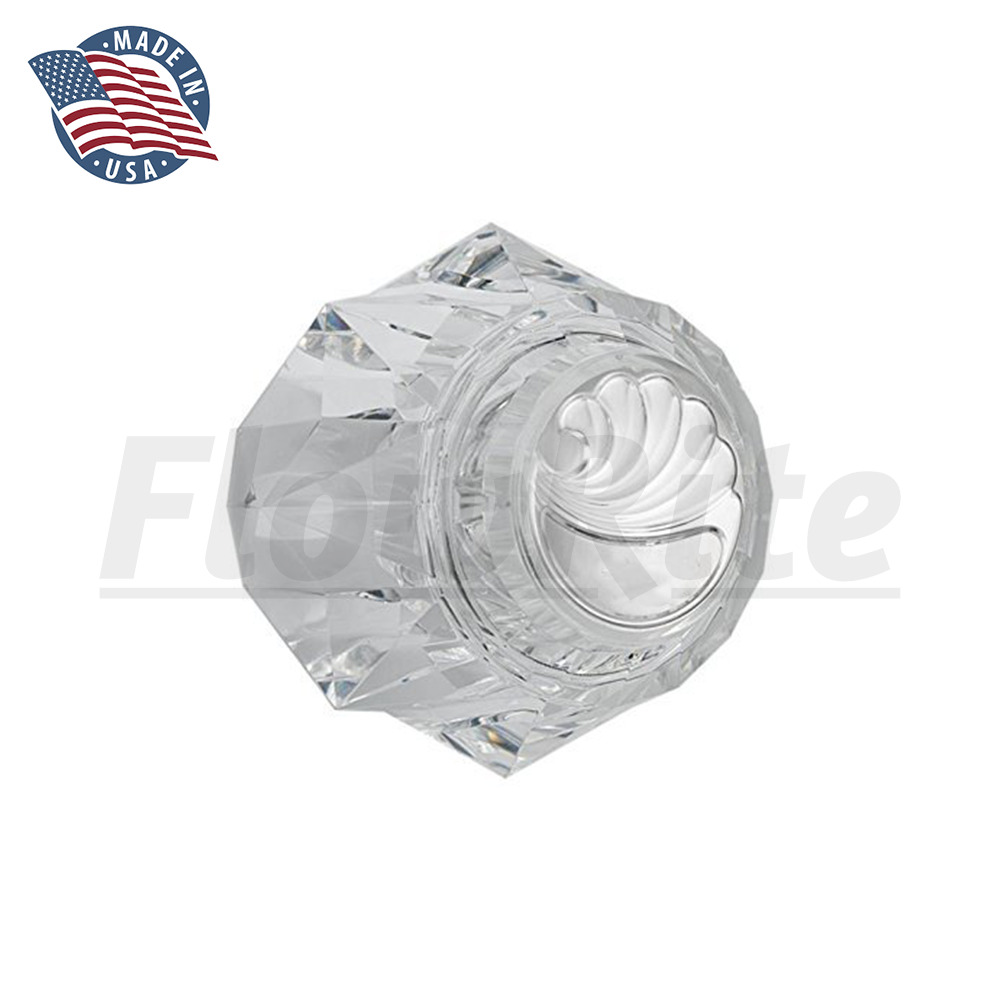 Replacement delta 600 rp17451 acrylic knob for shower Replacement shower handles