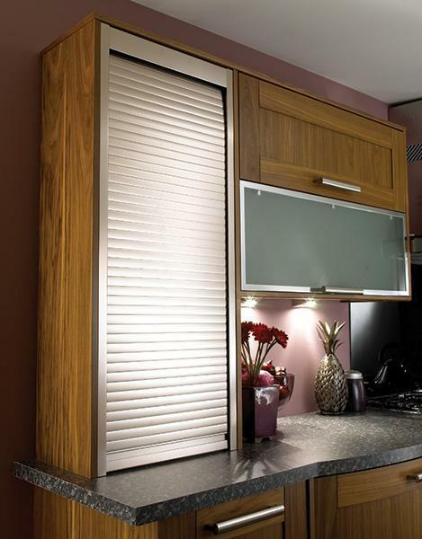 Pvc roller shutter door kitchen cabinet tambour buy for Kitchen cabinets 600mm