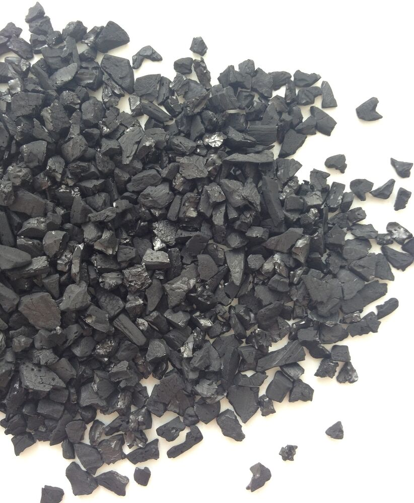 1000g activated carbon granulated aquarium fish filter ebay for Fish tank charcoal