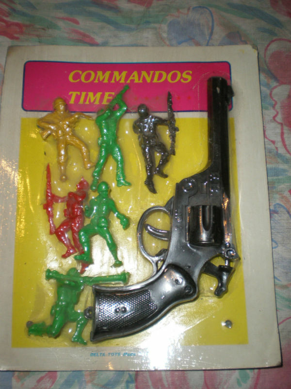 Rare Toys From The 80s : S vintage delta toys soldiers greek commando time moc ebay