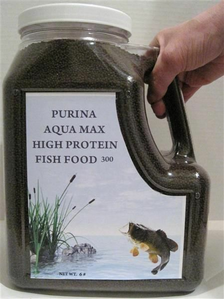 purina aqua max 300 high protein fish food 1 16 ebay