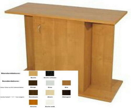 aquarium unterschrank 60 x 30 x 70 cm schrank gerade alle farben ebay. Black Bedroom Furniture Sets. Home Design Ideas