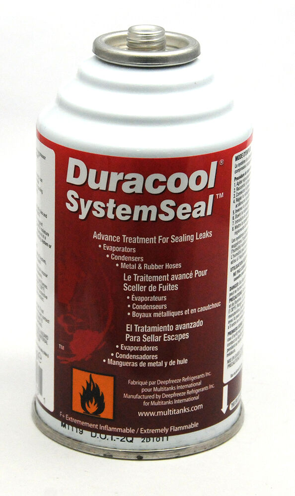 anti fuite duracool systemseal clim auto r134a r12 ebay. Black Bedroom Furniture Sets. Home Design Ideas