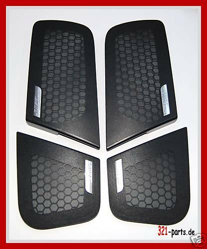 original audi a6 4f bose boxengitter set s6 rs6 au0064 ebay. Black Bedroom Furniture Sets. Home Design Ideas