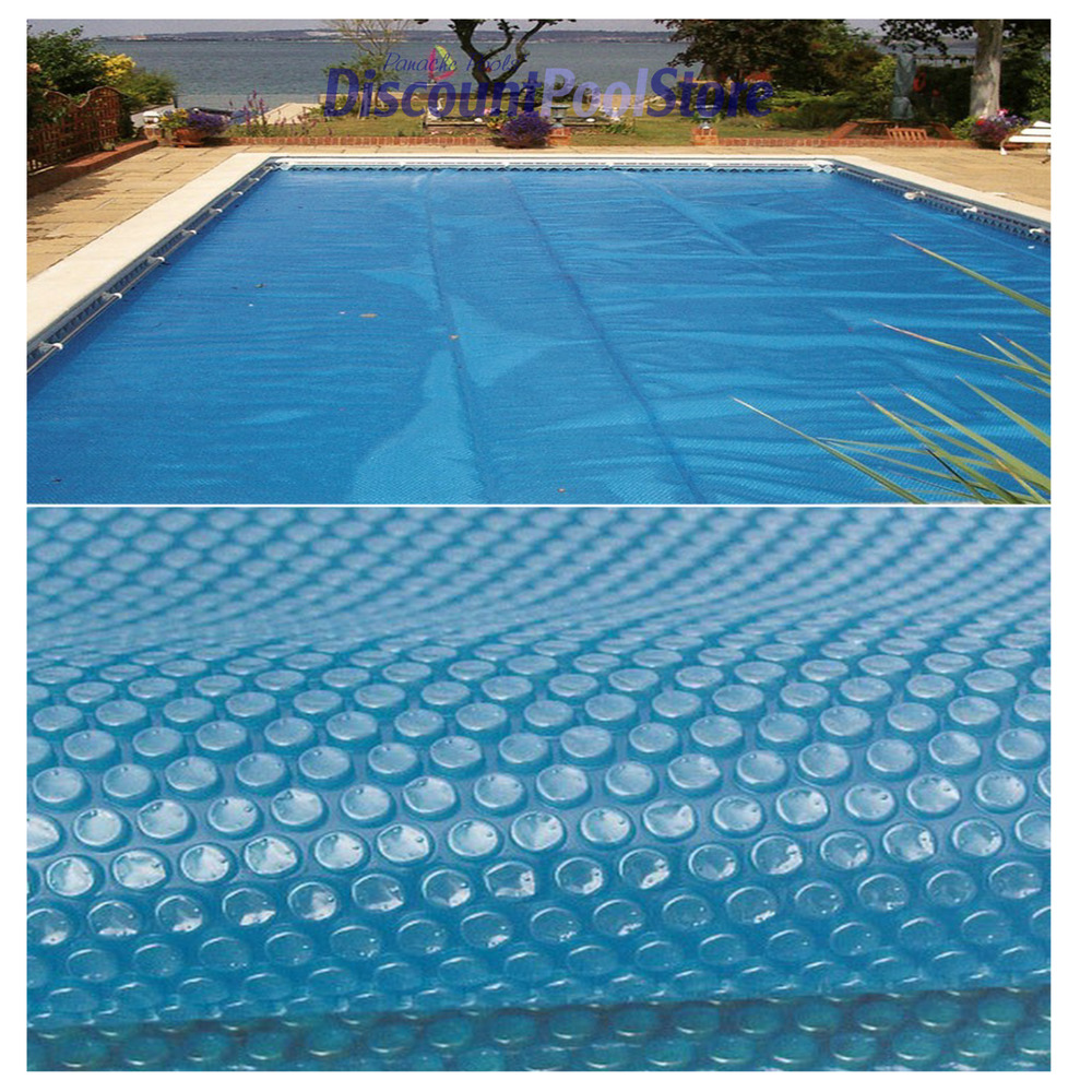 16ft X 32ft Blue 400 Micron Swimming Pool Solar Cover Ebay