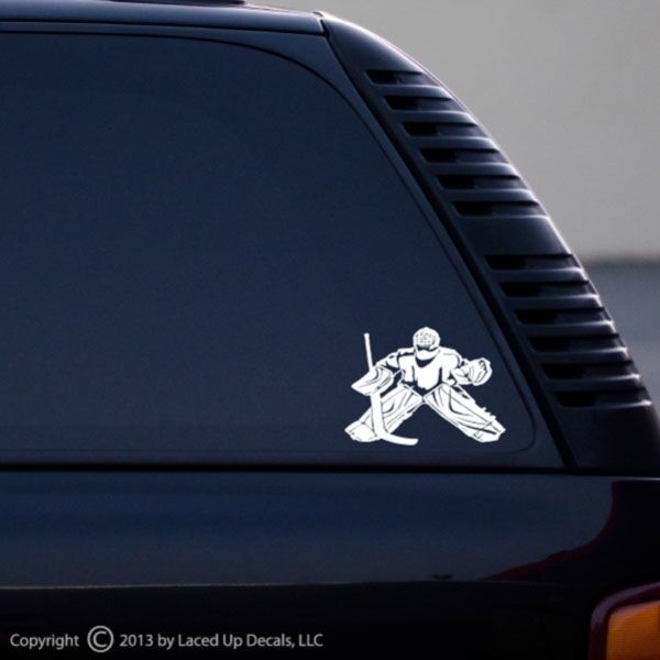 Ice Hockey Goalie Warrior Swagger Car Vinyl Decal 1 Ebay