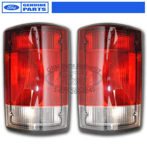 Oem New 2005 2011 Ford E 250 E 350 Tail Light Pair