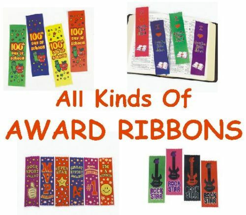 All Kinds Of Award Ribbons Choose Sports CHURCH School