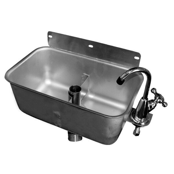 Dipperwell Sink Wall Mount Stainless Steel Nsf Ebay