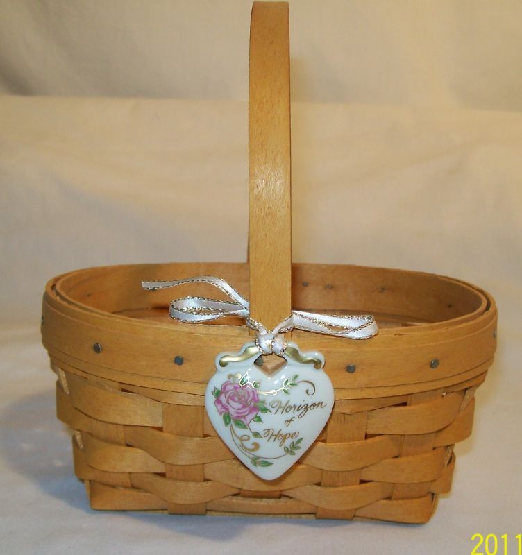 Estate sale longaberger horizon hope of basket 14150 ebay Longaberger baskets for sale