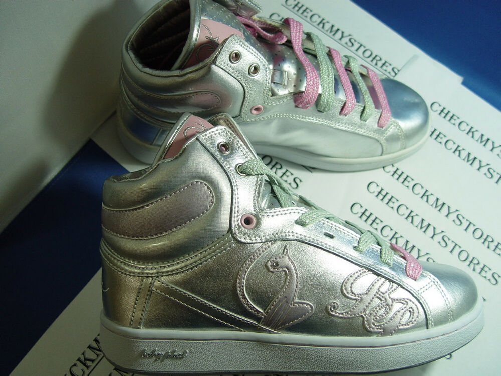 NIB BABY PHAT BP GLITTER CAT Sneakers DESIGNER SHOES | eBay
