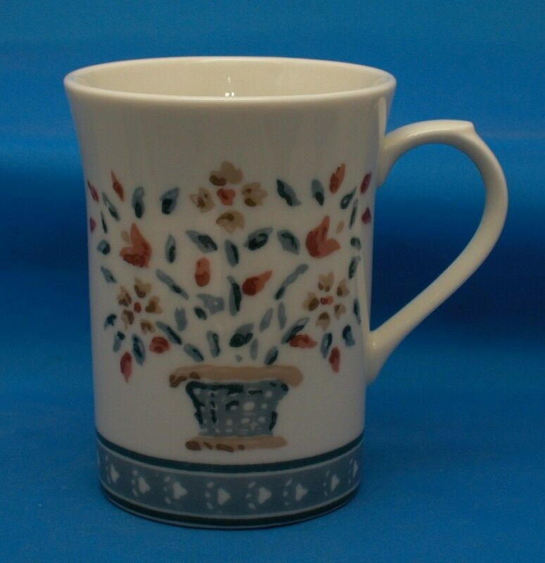 Nice Handpainted Floral Porcelain Coffee Mug Tea Cup Ebay