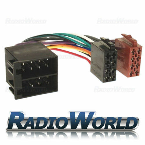 Male To Female Iso Lead Stereo Radio Wiring Harness