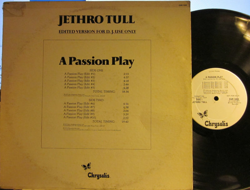 Jethro Tull - A Passion Play (Edited Version for D.J. Use ...