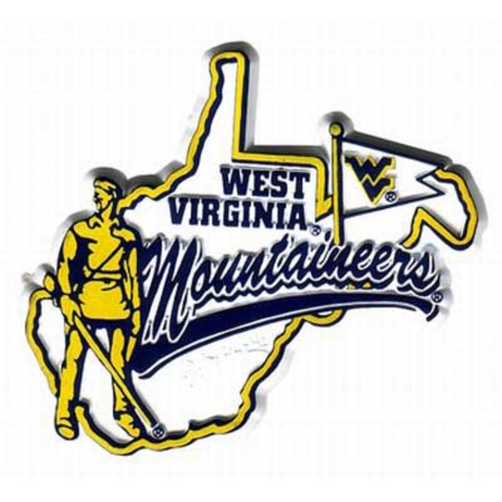 West Virginia Mountaineers Mascot Magnet | eBay