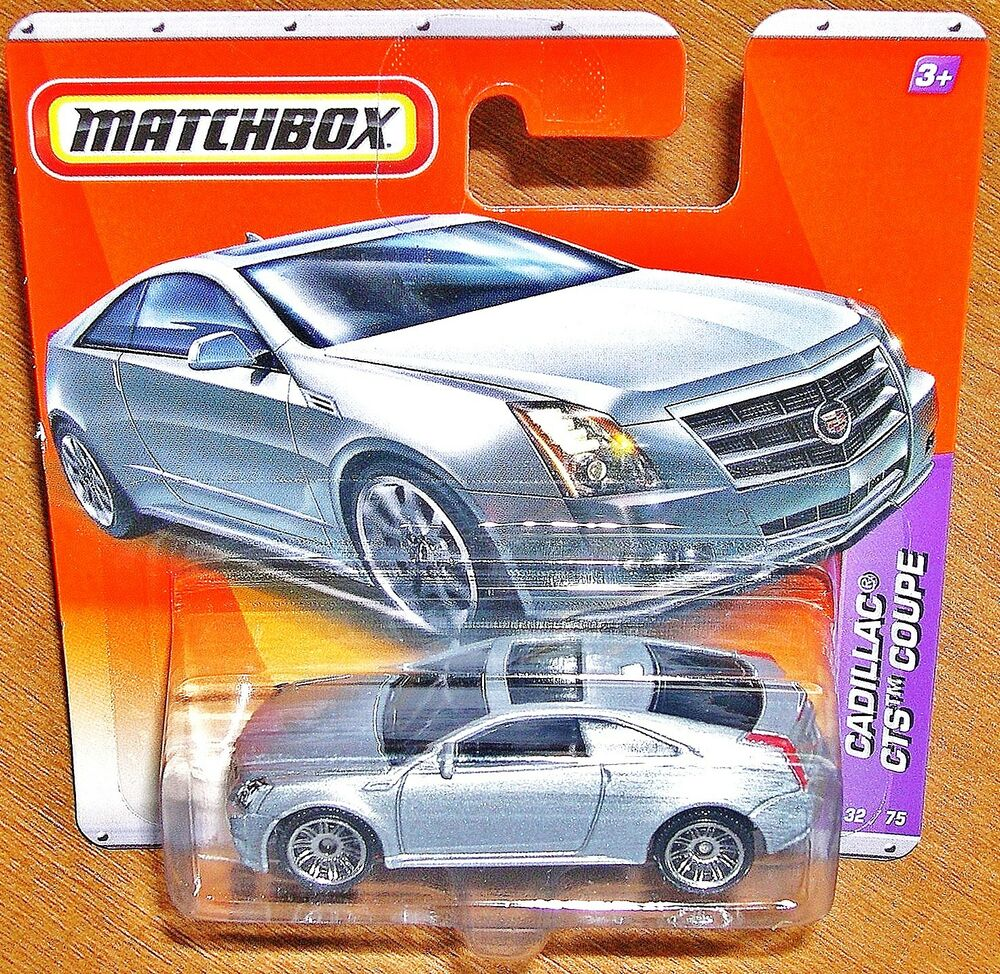 Matchbox Cars Cadillac CTS Coupe 1:64 (2010) NEW
