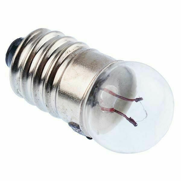 3 5 Volt 200 Ma Filament Miniature Lamp Bulb E10 Pack Of 2 Lamps Ebay