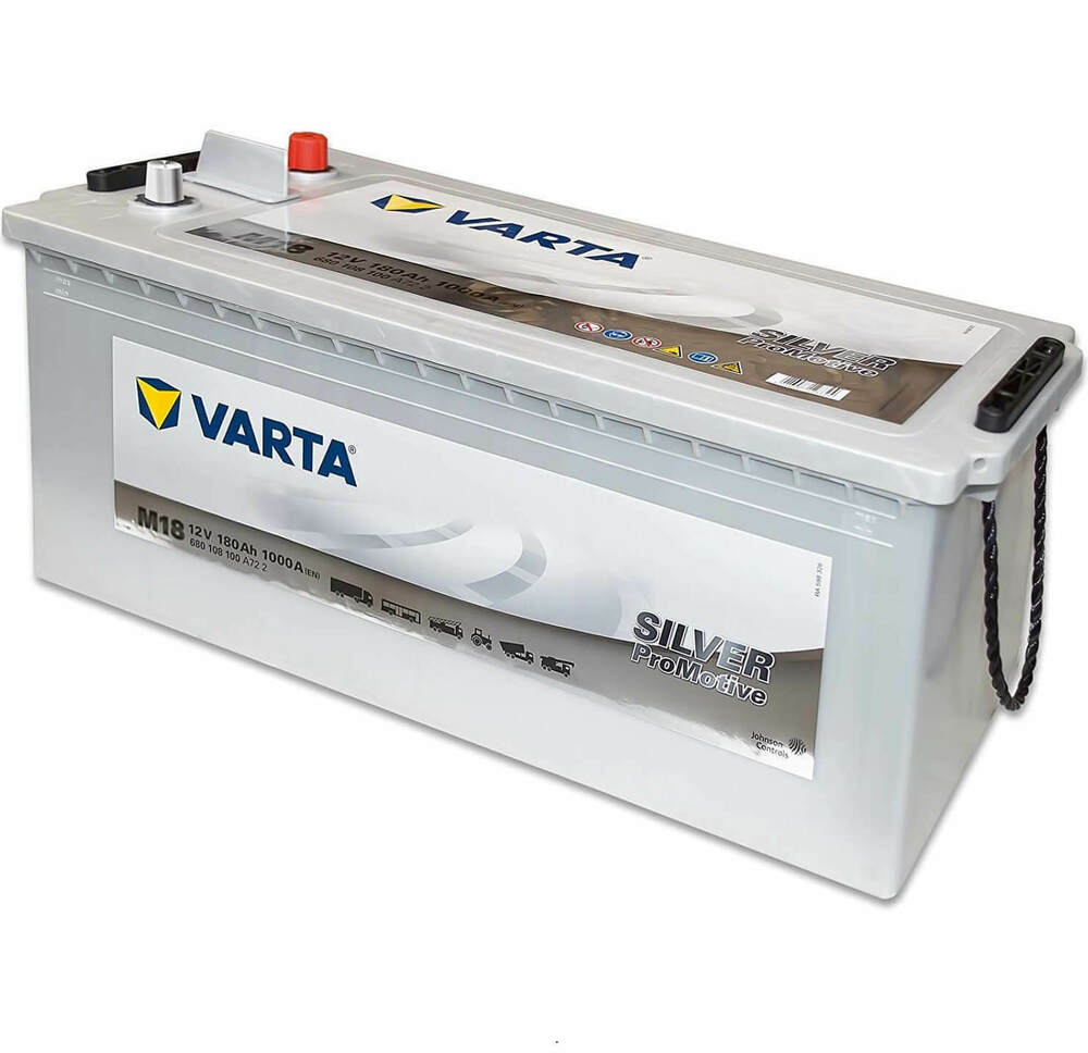varta lkw batterie promotive silver m18 12v 180ah 1000a ebay. Black Bedroom Furniture Sets. Home Design Ideas