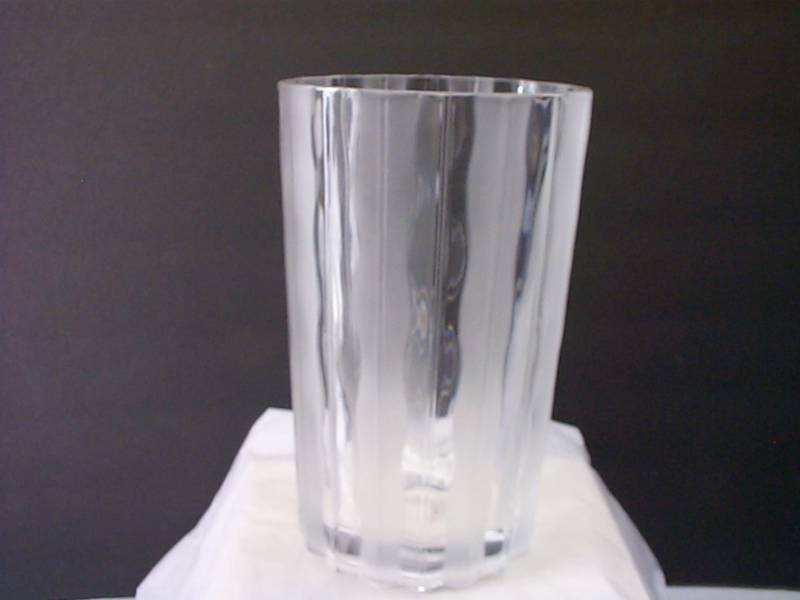 Studio Nova Crystal Vase Frosted Amp Clear Vase Beautiful Ebay