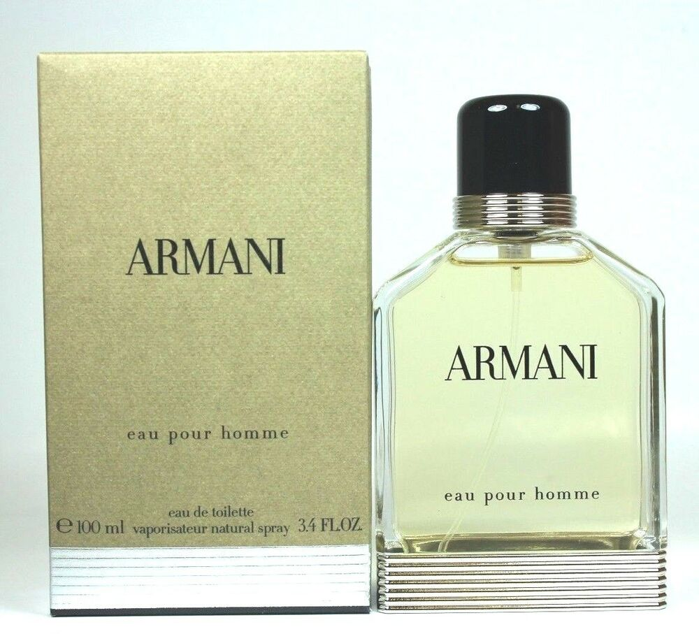 armani eau pour homme by giorgio armani 3 4 3 3 oz eau de toilette men sealed 843706024259 ebay