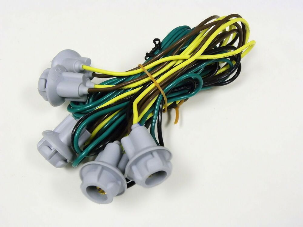 Wiring Harness For Lights : Universal truck suv cab roof light wiring harness kit ebay