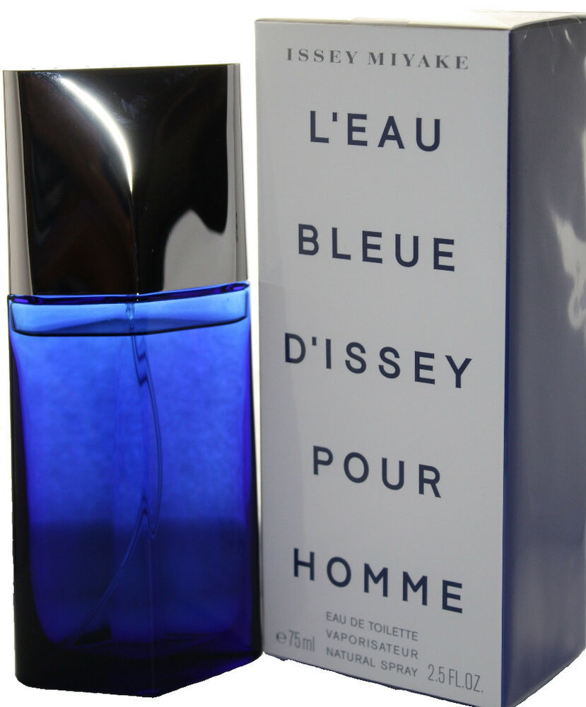 issey miyake l 39 eau bleue d 39 issey 2 5 oz edt for men new in box ebay. Black Bedroom Furniture Sets. Home Design Ideas
