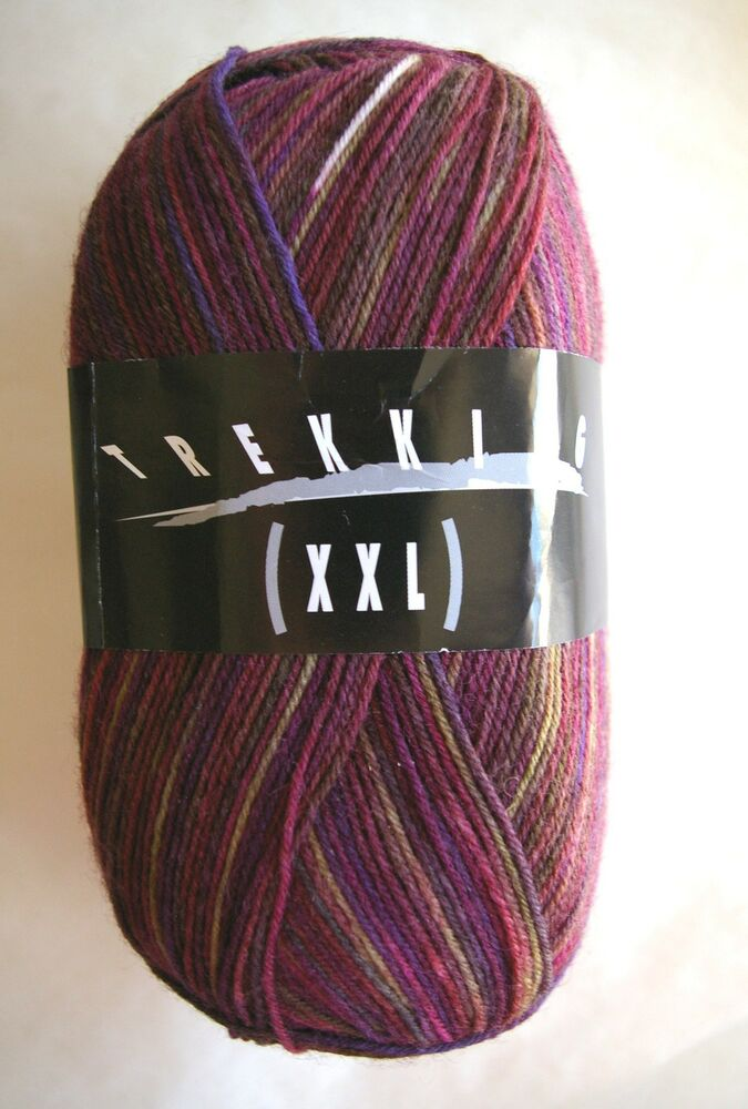 Xxl Knitting Yarn : Trekking xxl sock yarn skein select colors ebay