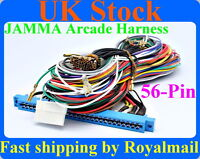 Jamma Arcade Harness for Video game PCB,dedicated 60 in 1