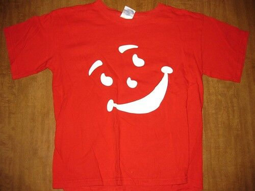 Kool Aid Youth Large T Shirt Retro Logo Flavored Drink Ebay