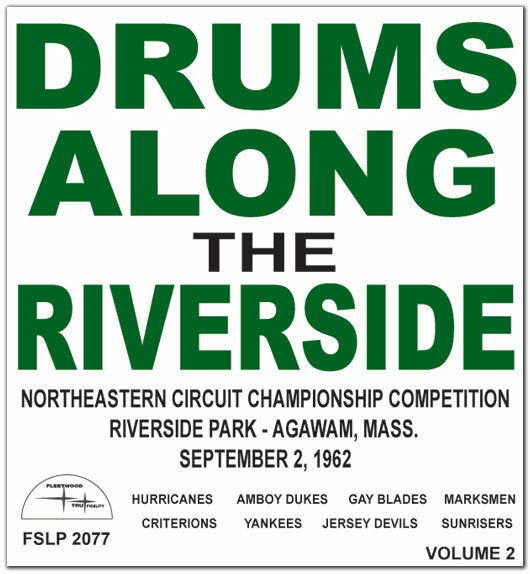 1962 Drums Along the Riverside Vol 2 Drum Corps CD Conn Yankees, Sunrisers : eBay