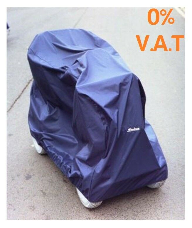 Large Mobility Scooter Storage Cover In Blue By Sheerlines