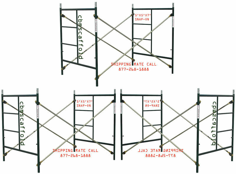 Snap On Scaffolding : Scaffolding masonry frame sets  x snap on cross