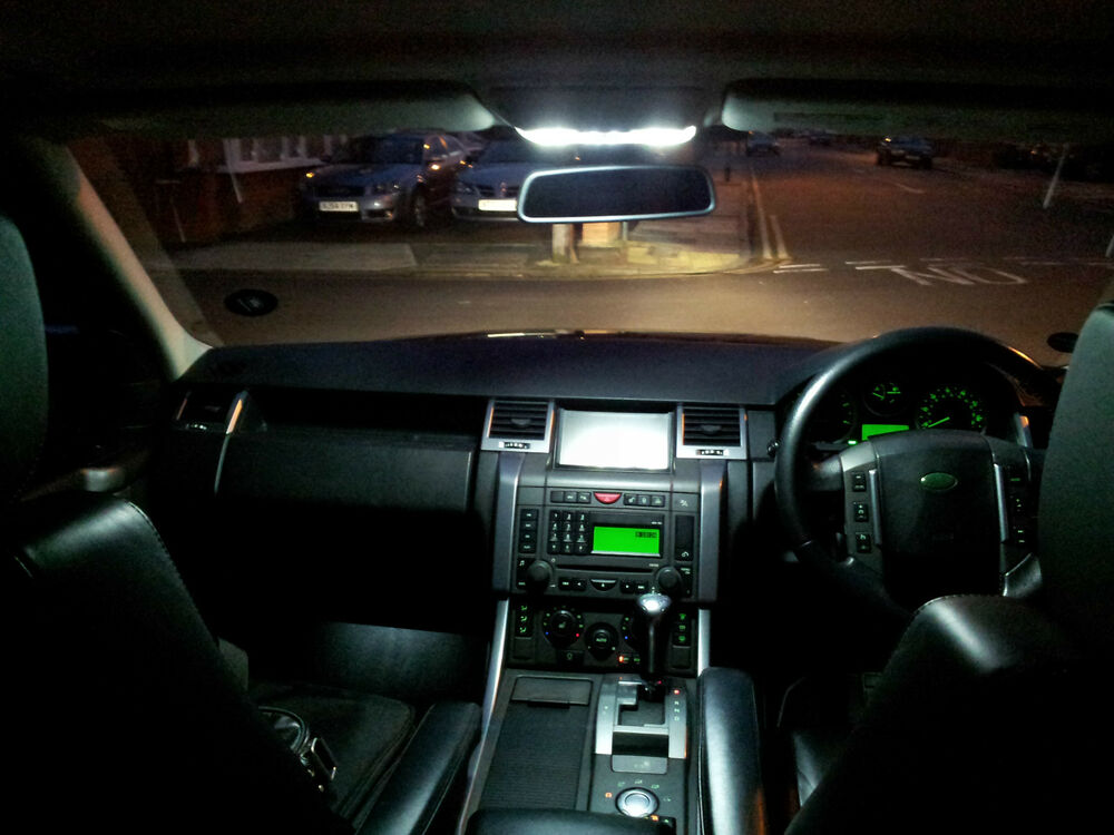 range rover sport led xenon white interior exterior lights bulbs kit ebay. Black Bedroom Furniture Sets. Home Design Ideas