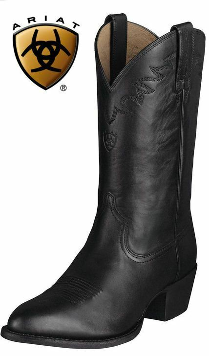 Ariat Men S Sedona Leather Western Cowboy Riding Boots Ebay