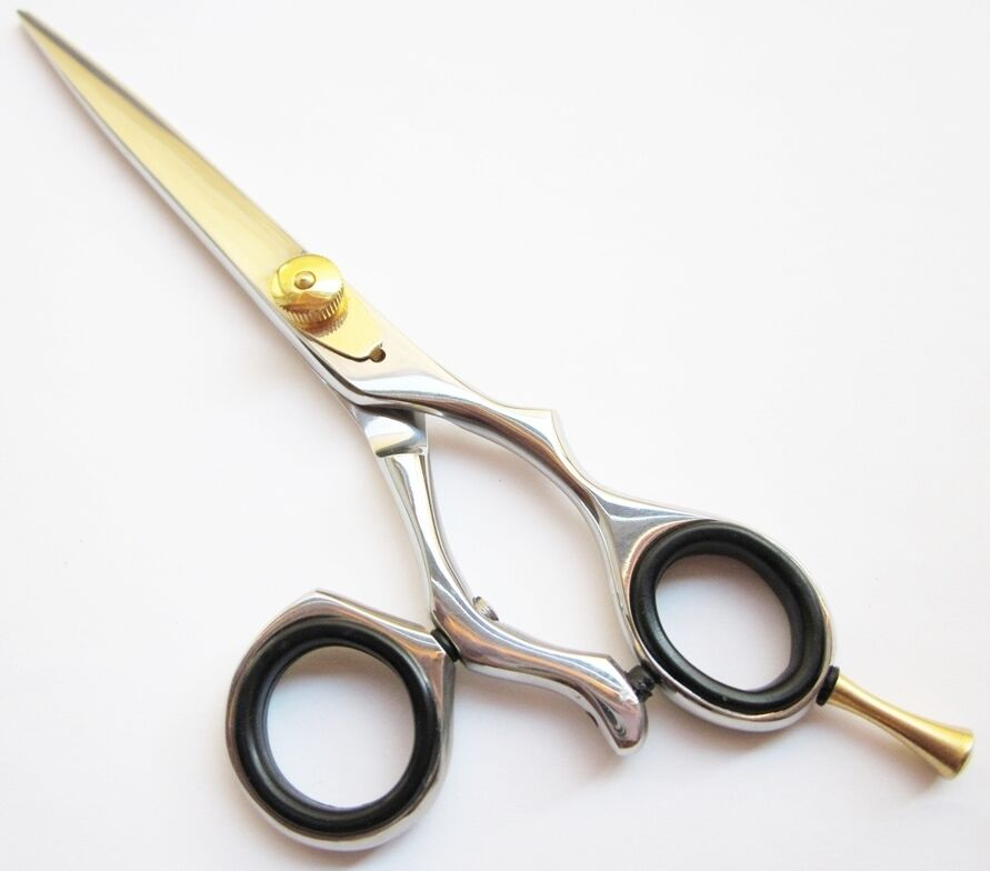 6 Quot Hairdressing Hair Cutting Scissors Swivel Ring Barber