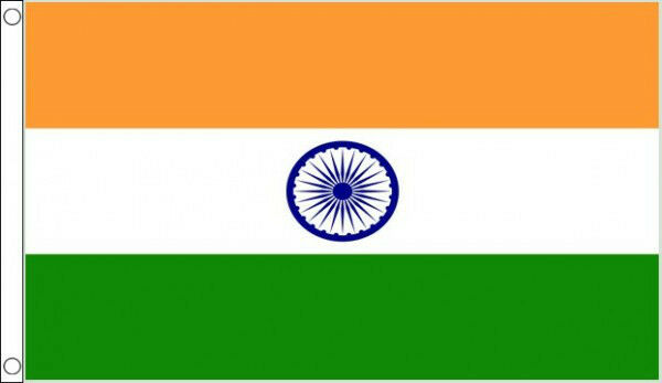 India Country Flag: 3' X 2' India Flag Indian National Flags Asia Country