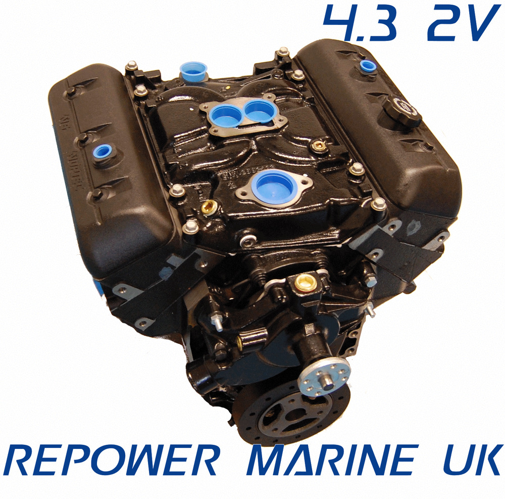new 4 3l v6 marine engine repower mercruiser volvo penta. Black Bedroom Furniture Sets. Home Design Ideas