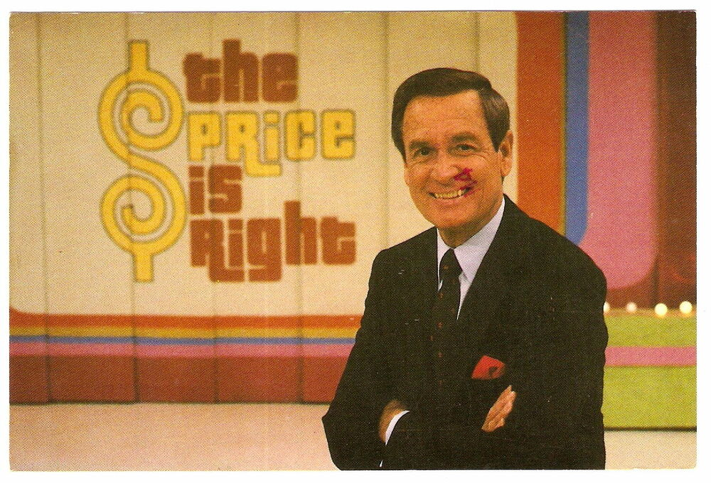 Price Is Right BOB BARKER Audience Appearance Promo ...