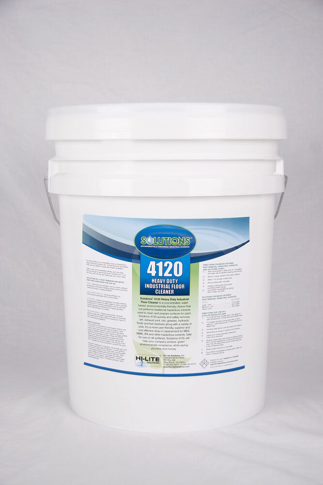 Aerogreen 4120 Heavy Duty Industrial Floor Cleaner 5