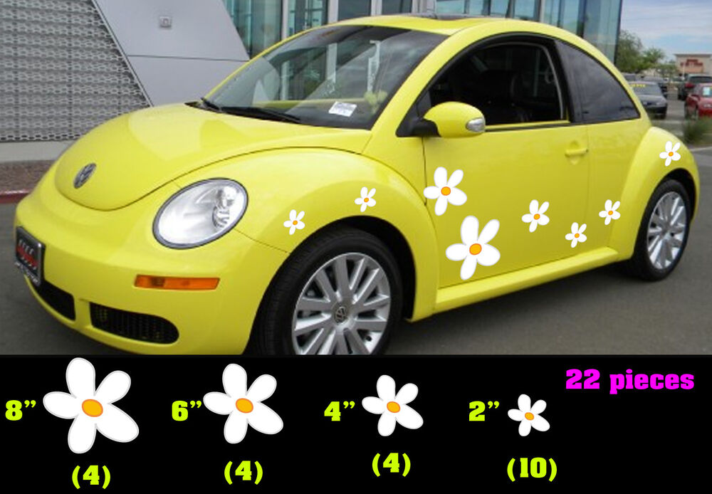Punch Buggy Car >> VW Beetle Flowers, Flowers for Beetle, Punch buggy Flowers, Punch bug daisies | eBay