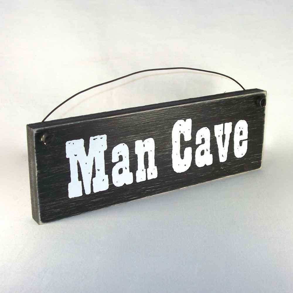 MAN CAVE Country Wood Home Decor Sign EBay