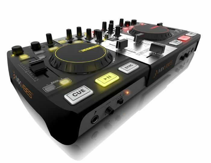 mixvibes umixcontrolpro all in one dj controller 3760093250689 ebay. Black Bedroom Furniture Sets. Home Design Ideas