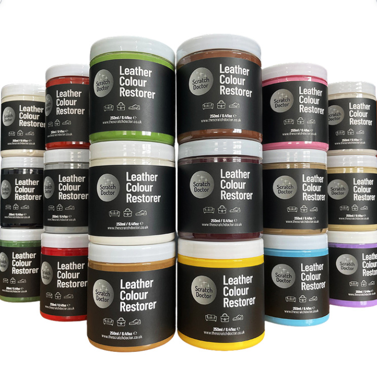 Leather Dye Colour Restorer For Faded And Worn Leather Sofa Chair Colour Rep