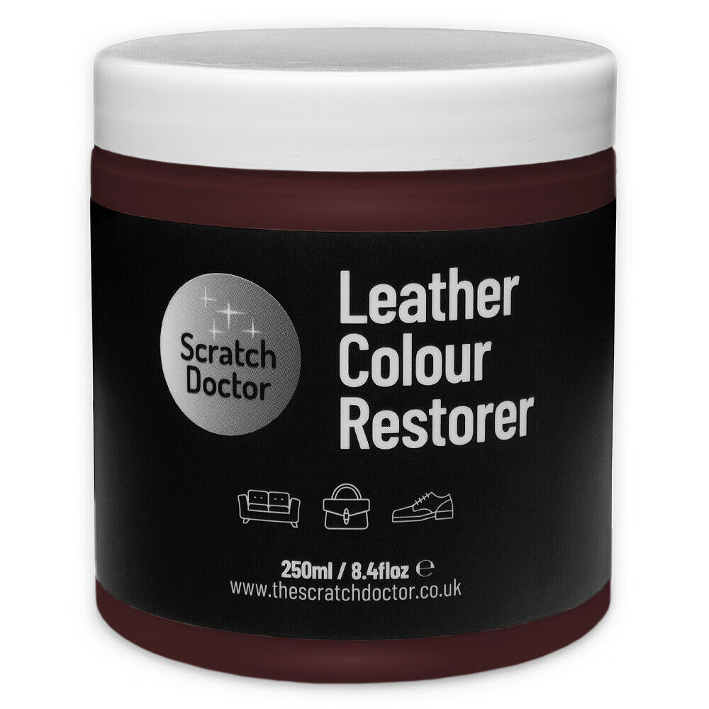 Leather Dye For Sofas Uk: MAROON Leather Dye Colour Restorer For Faded And Worn