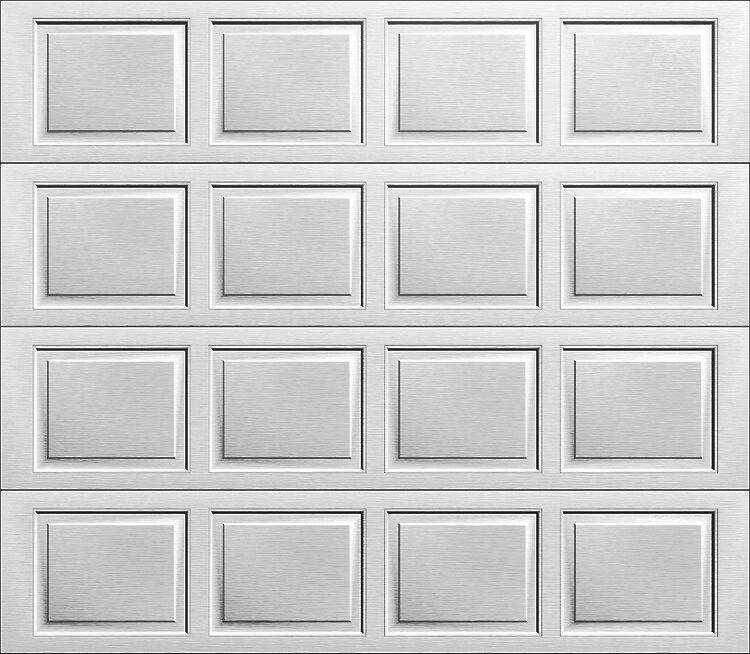 Wayne dalton garage door white raised panel colonial ebay - Wayne dalton garage door panels ...