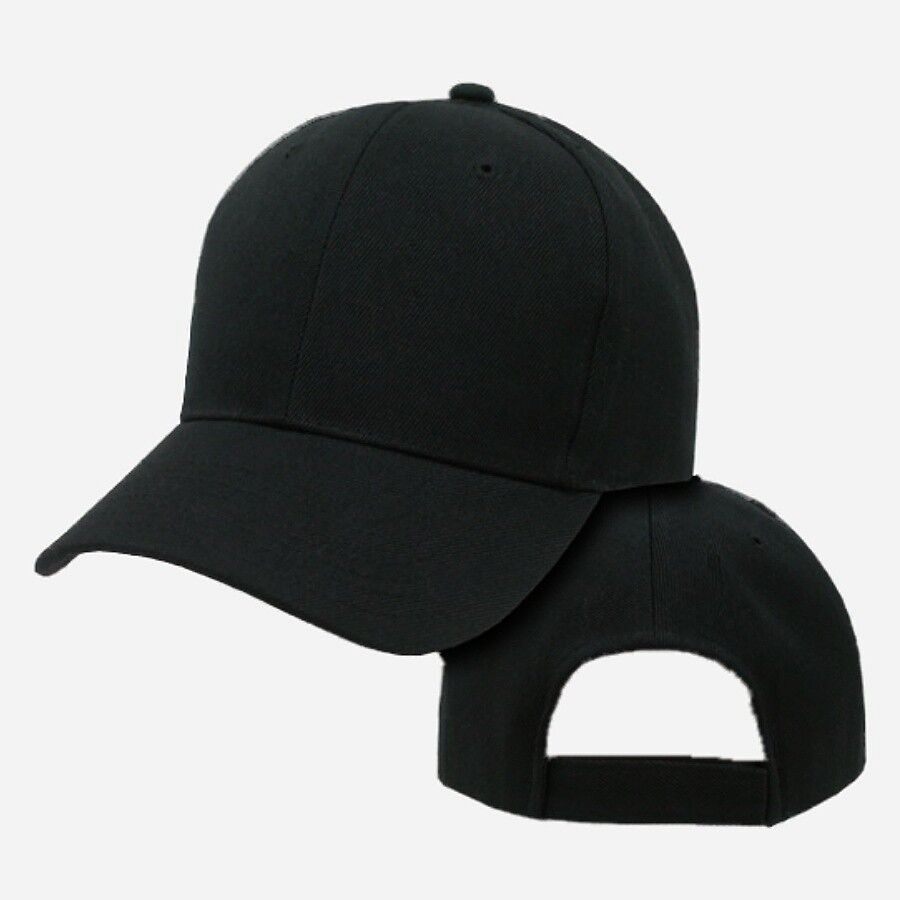blank black baseball hat - photo #11