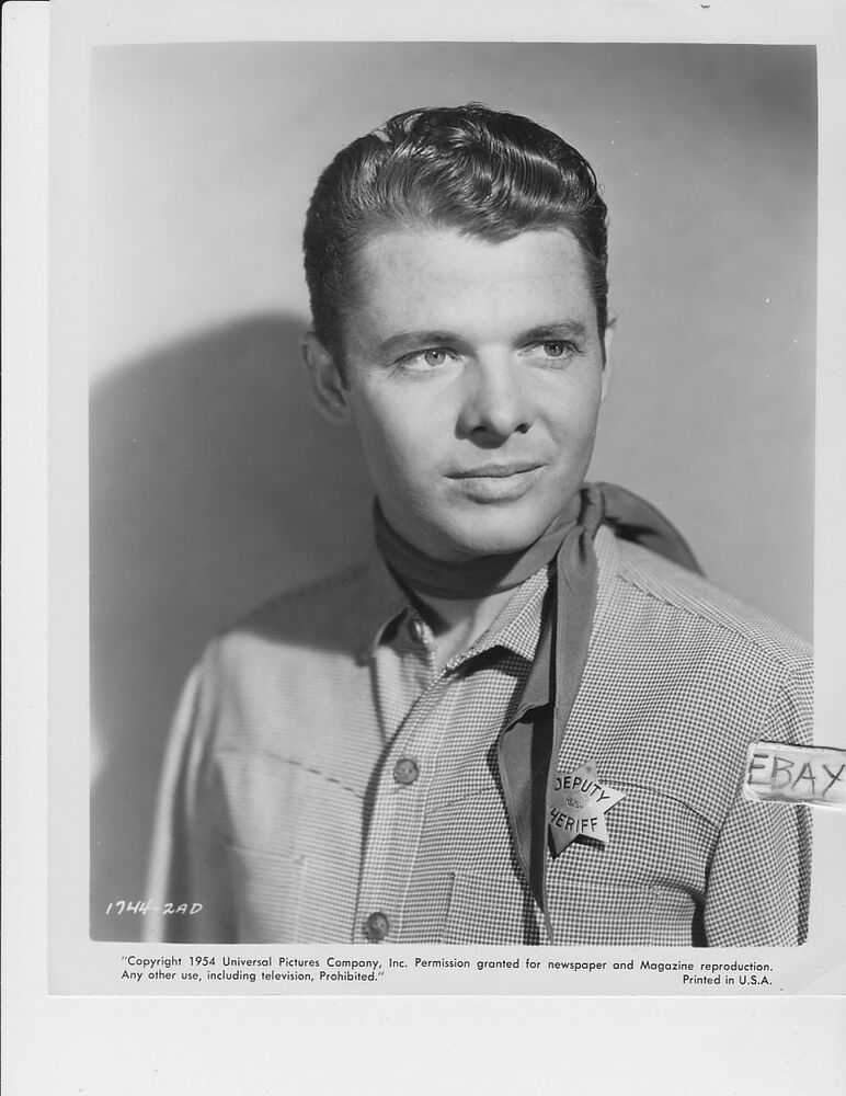 Audie Murphy Sexy Sheriff Vintage Photo Ride Clear Of