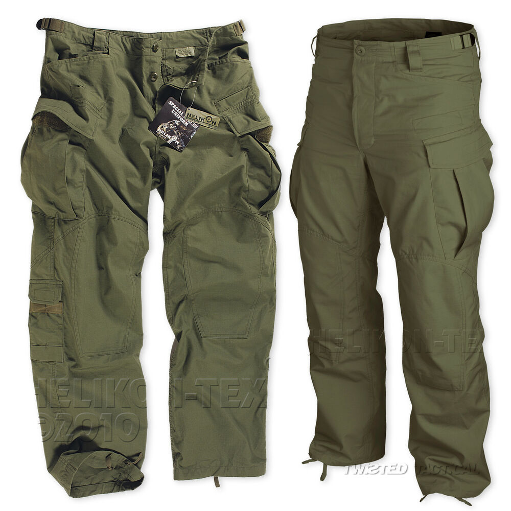 HELIKON SPECIAL FORCES (SFU) TACTICAL TROUSERS, ARMY ...
