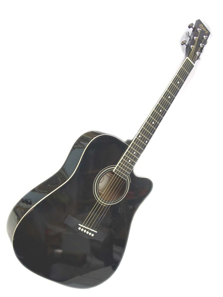 brand new full size 41 steel string acoustic guitar free postage to aus wide ebay. Black Bedroom Furniture Sets. Home Design Ideas
