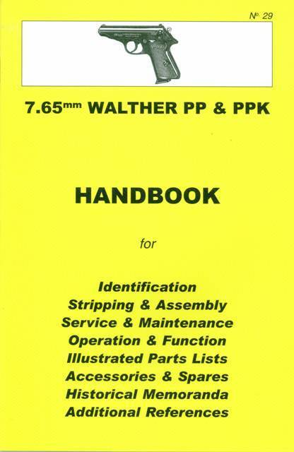 walther pp   ppk 7 65mm assembly  disassembly manual ebay Walther PPK Archer Hitler's Walther PPK
